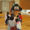 蛭川親子防災教室が行われました