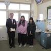 中津川市立東小学校より、赤い羽根共同募金をいただきました