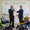 三菱電機エンジニアリング株式会社から車いすを寄贈いただきました!!
