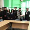 阿木高等学校より、赤い羽根共同募金をいただきました