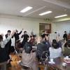 阿木地区社協:お達者サロンで高校生と交流しました!