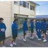 中津川市第一中学校より共同募金を頂きました