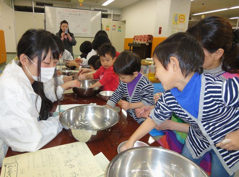 ... 中津高校の生徒と小麦粉ねんど : 小麦粉ねんど : すべての講義